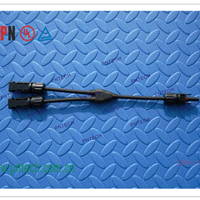 供应太阳能光伏电缆预分支MC4连接器