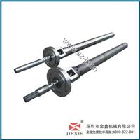供应粉末注塑机螺杆机筒、金鑫螺杆优质产品