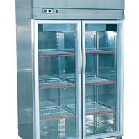 供应风冷玻璃门展示柜不锈钢玻璃门展示柜