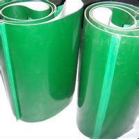 2mm环形绿色pvc输送带