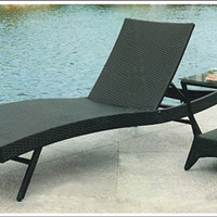 供应康福特K417藤编躺椅,沙滩躺椅