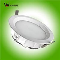 供应深圳蛙眼照明LED灯具筒灯8寸18W