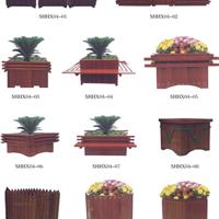 供应石家庄园林景观木结构制品