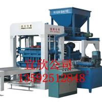 供应河南宜欣8-15大中型石粉制砖机设备