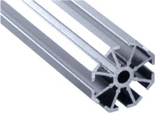 冠禾展览会标摊铝材 八棱柱系列 小孔八棱柱