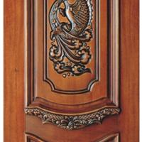 广州木门 因为专业所以卓越 广州原木雕花门