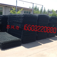 雄标供应镀锌石笼网河道护坡专用网价廉质优