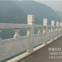 花岗岩大理石石雕广西白栏杆