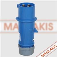 供应工业插头TYP-248工业插座 防水插头