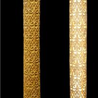 供应人造砂岩柱子/透光镂空柱子/砂岩罗马柱