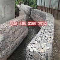 供应装石头铁丝笼护坡、水渠护岸镀锌铁丝笼