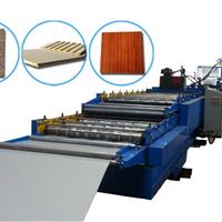 供应最新开发聚氨酯装饰板材发泡机