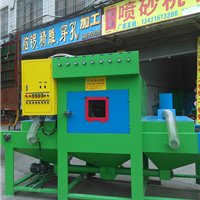 供应广东Q376吊钩自动抛丸机