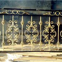 供应铁艺围栏护栏花件,配件,锻杆,代加工