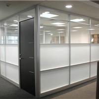 供应现货批发高隔铝材,办公隔断,玻璃隔断