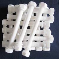 供应耐腐蚀特氟龙六角塑料螺栓