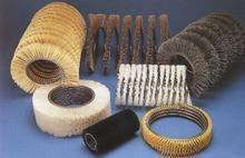 供应建材除绣弹簧刷 打磨毛刷