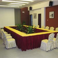 北京会议室桌布台呢定做酒店餐厅台布椅套