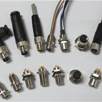 M8防水连接器,三针三孔,四针四孔直头弯头