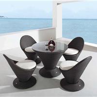 休闲家具,户外桌椅,户外藤编椅001