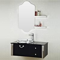 森福莱欧式浴室柜组合现代简约不锈钢卫浴柜