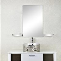 森福莱高端不锈钢浴室柜组合欧式卫生间吊柜