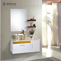 森福莱高端不锈钢浴室柜组合洗手盆卫浴柜