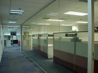 重庆成都批发单层玻璃隔断办公室会议室隔断