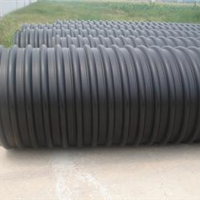 供应和顺\左权PE钢带管 PE钢带增强管品牌
