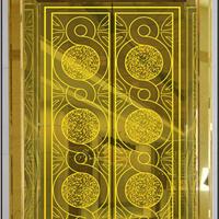 电梯厅门装饰改包