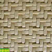 混合材质编织墙纸,特殊编织墙纸