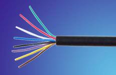 供应电力电缆 RVV圆护套软电缆 屏蔽电线