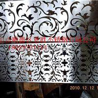 供应定做铝板雕刻双面镀色隔断厂家