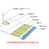 电地暖温控器自控方案