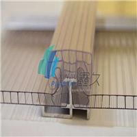 百分百防水设计U型锁扣阳光板 厂家直销