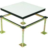 角锁孔贴面活动地板