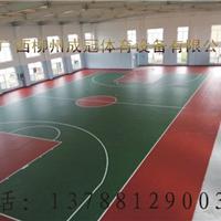 桂林硅PU球场地垫施工