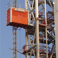 供应2吨单笼施工升降机,施工电梯,两吨吊笼