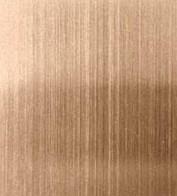 供应联众不锈钢201红古铜拉丝无指纹