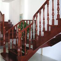 实木楼梯 钢木楼梯 旋转楼梯玻璃护栏