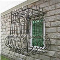 供应北京安装防盗窗 不锈钢防护栏 铁艺围栏