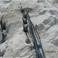 国内先进的静爆破开采玉矿石设备