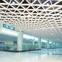 铝型材三角格栅吊顶-商场专用-厂家直销