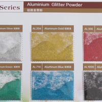 供应铝质金葱粉,用于注塑色母可耐高温