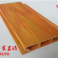 供应生态木绿可木装饰扣板防水性能