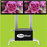 带视听柜液晶电视移动地面支架双屏32-55寸