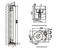 供应(侧移式)钢质复合防火卷帘门