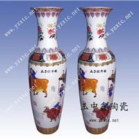 供应陶瓷花瓶 工艺大花瓶 彩绘大花瓶