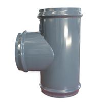 厂家定制钢塑三通,大口径管件,给水三通