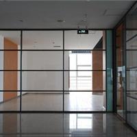 供应成品铝合金办公玻璃隔断墙